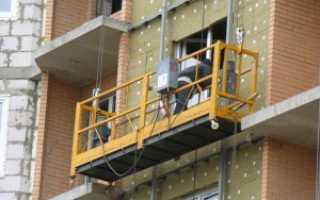 Что безопаснее: строительная люлька или строительные леса