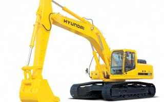 Экскаватор гусеничный Hyundai (Хундай): фото, отзывы, цена