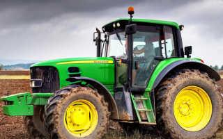 Американские тракторы John Deere