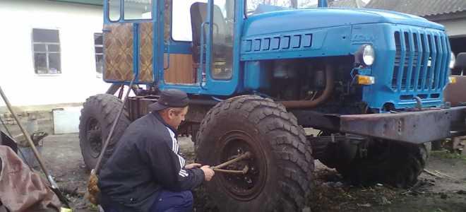 Функциональные самодельные трактора из Газ-66