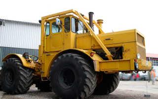 Трактор К-700 — кировский вариант мощного универсала