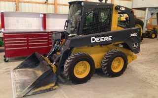 Мини-погрузчик John Deere 318D. Технические характеристики, преимущества и цены