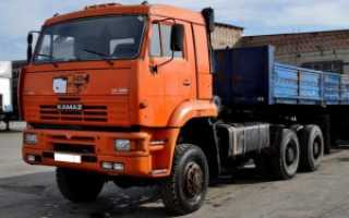 Технические характеристики КамАЗ 65225: цена, фото (седельный тягач, военный), видео салона и кабины