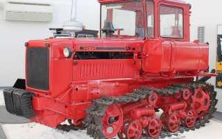 Трактор ДТ-75 — модель 60-х годов в современных решениях