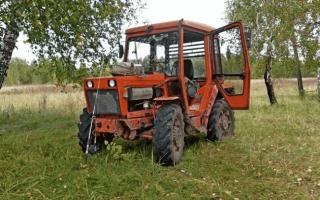 Маневренный сельхозтрактор Кировец К-20