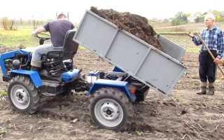 Как собрать трактор самому, только все самое важное!