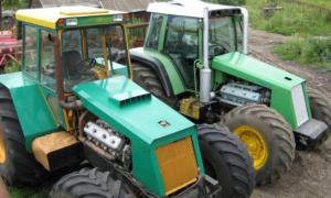 Самостоятельная сборка тракторов Бизон