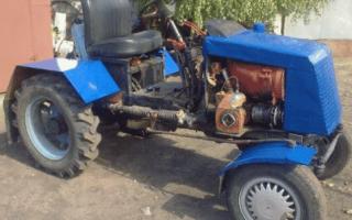 Как сделать самодельный минитрактор из УАЗа?
