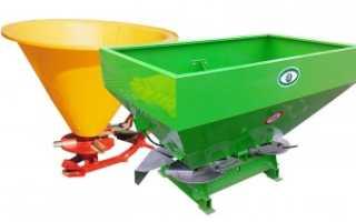 Разбрасыватели гранулированных удобрений: устройство, принцип работы, обзор производителей