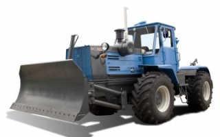 Колесный и гусеничный бульдозеры Т-150: технические характеристики, устройство, фото и видео