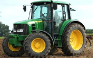 Тракторы Джон Дир (John Deere): серии, технические характеристики, фото и видео