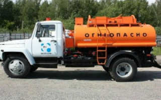 Бензовозы на базе ГАЗ: устройство, технические характеристики, фото и видео