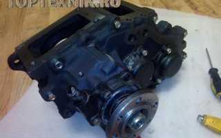 Раздатка УАЗ 469: Устройство и схема переключения. Замена масла…