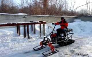 Как сделать снегоход из мотоблока: видео, схема и этапы сборки