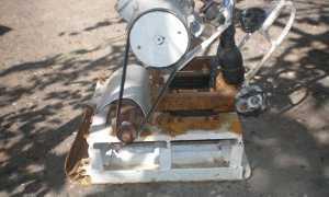 Виброплита своими руками с электрическим и бензиновым двигателем (чертежи, видео, фото)
