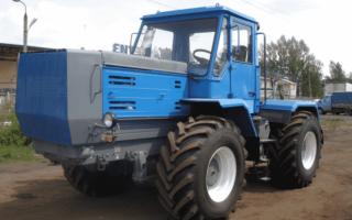 Т-150 и Т-150К – технические характеристики и конструкция отечественных тракторов