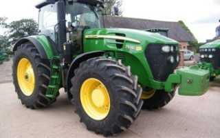 Трактор John Deere 7930 — модель для сельскохозяйственного бизнеса