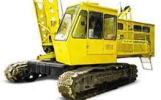 Технические характеристики гусеничного крана РДК-25 (250) и его модификаций РДК 250-02, 250-03: силовая установка, устройство, электроообрудование