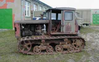 Трактор ДТ 54 (Гусеничный) — Технические характеристики . Устройство такртора