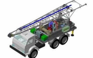 Обзор буровой установки УРБ 2.5 (УРБ 2.5 А): технические характеристики, фото, особенности, модификация