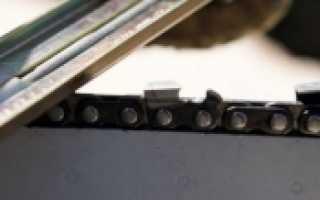 Цепь для электропилы, смазка, заточка