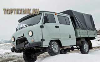 УАЗ-390945 технические характеристики, расход топлива на 100 км